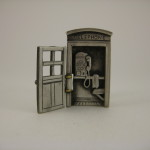 Telephone Booth Pin Open