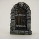 Goblin Head Door Front
